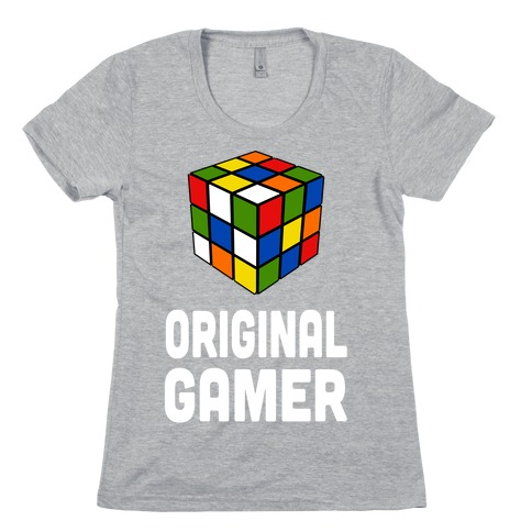 Original Gamer (juniors) Womens T-Shirt