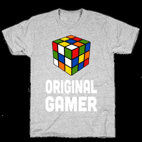 Original Gamer (juniors) Mens T-Shirt