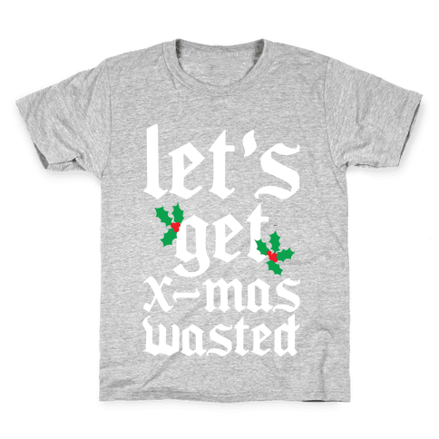 X-Mas Wasted Kids T-Shirt