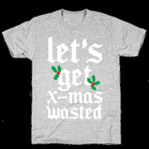 X-Mas Wasted Mens T-Shirt