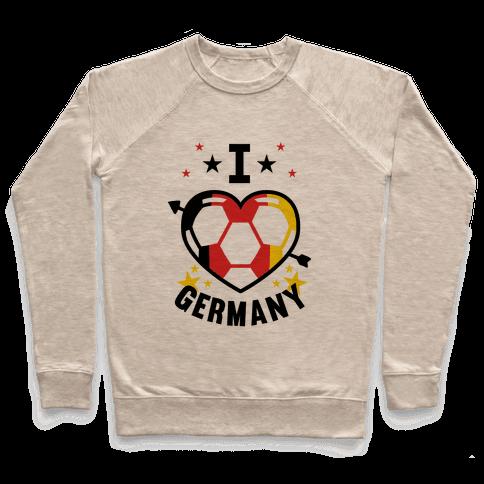 I Love Germany (Soccer) Pullover