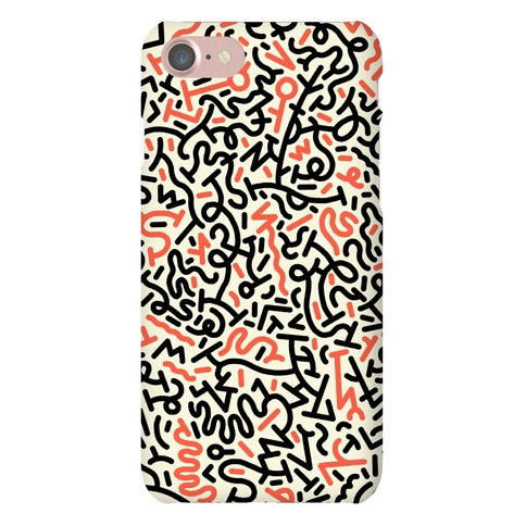 Metro Scribbles Phone Case