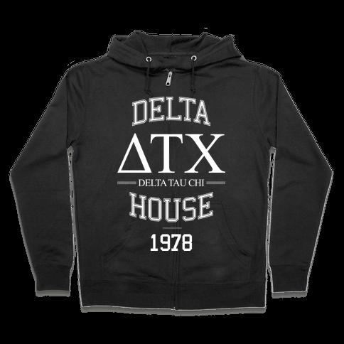 Delta House Zip Hoodie