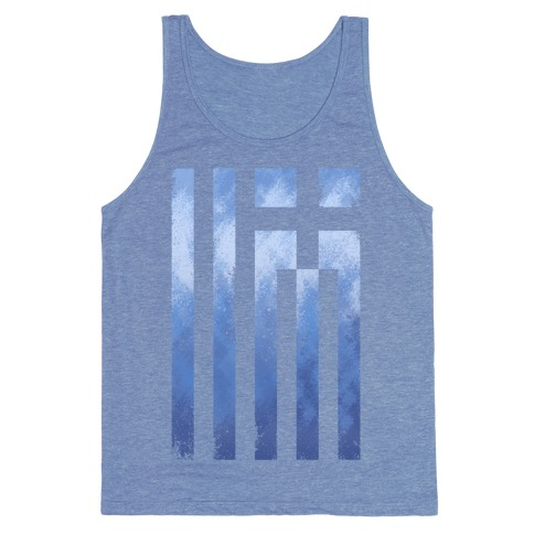Vintage Greek Flag Tank Top