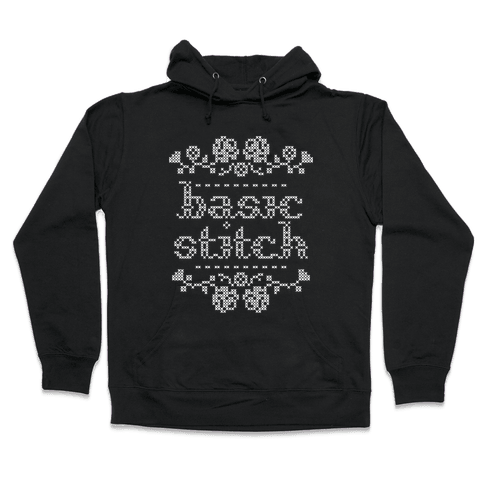 Basic Stitch Hooded Sweatshirt