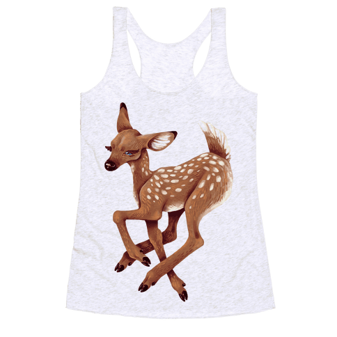Peaceful Fawn Racerback Tank Top
