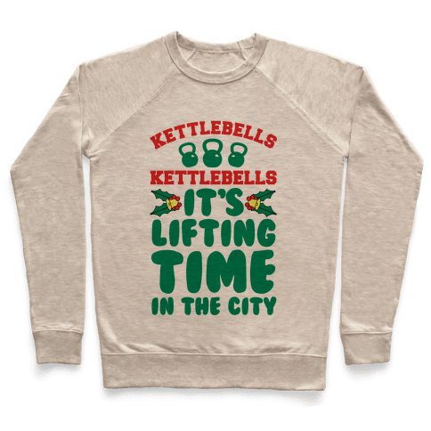 Kettlebells! Kettlebells! It's Lifting Time in the City! Pullover