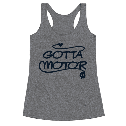 Gotta Motor Racerback Tank Top