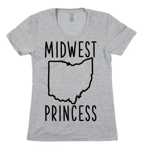 Midwest Princess Womens T-Shirt