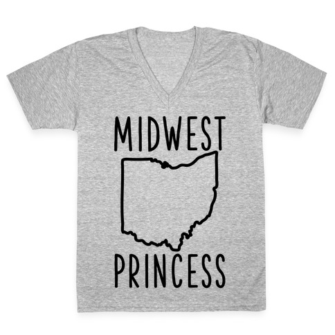 Midwest Princess V-Neck Tee Shirt