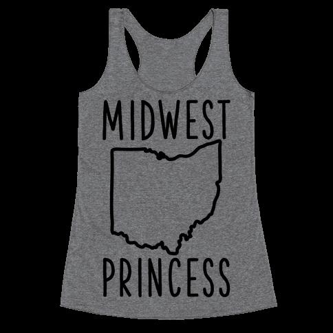 Midwest Princess Racerback Tank Top