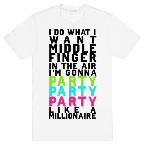 Party Party Party Mens T-Shirt