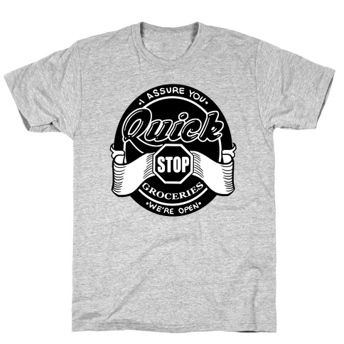 Quick Stop Mens T-Shirt