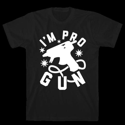 I'm Pro Glue Gun Mens T-Shirt
