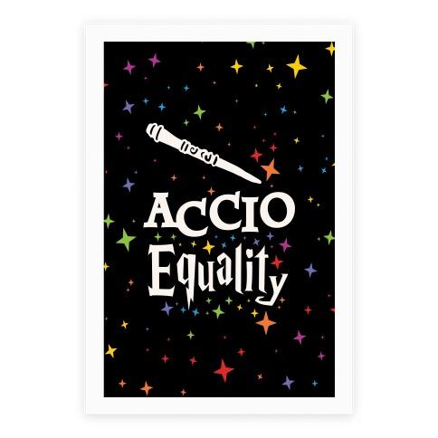 Accio Equality! Poster
