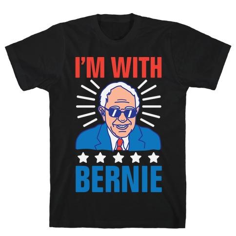 I'm With Bernie Mens T-Shirt