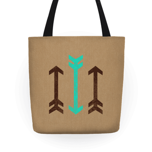 Triple Arrows Tote