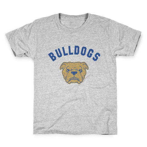 Bulldogs Blue & gold Kids T-Shirt