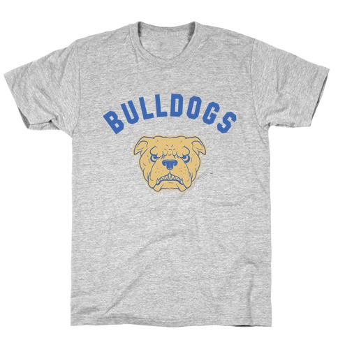 Bulldogs Blue & gold T-Shirt