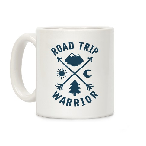 Road Trip Warrior Coffee Mug