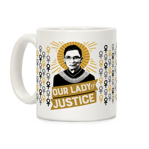 RBG: Our Lady Of Justice Coffee Mug