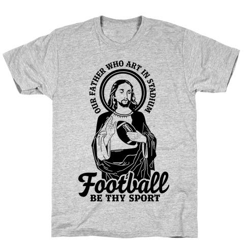 Football Jesus T-Shirt