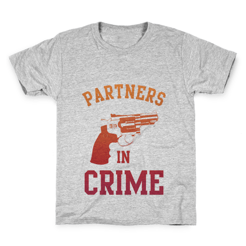 Partners in Crime (Red) Kids T-Shirt