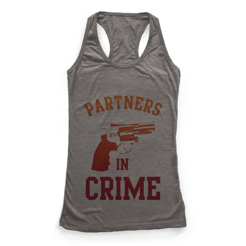Partners in Crime (Red) Racerback Tank Top