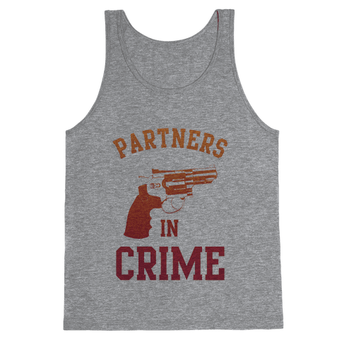 Partners in Crime (Red) Tank Top