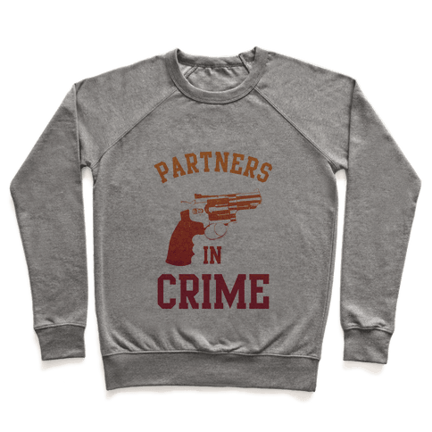 Partners in Crime (Red) Pullover