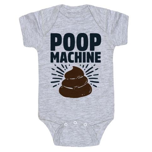 Poop Machine Baby Onesy