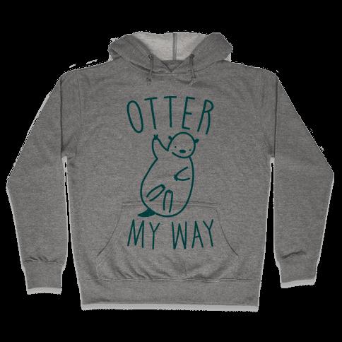 Otter My Way Hooded Sweatshirt