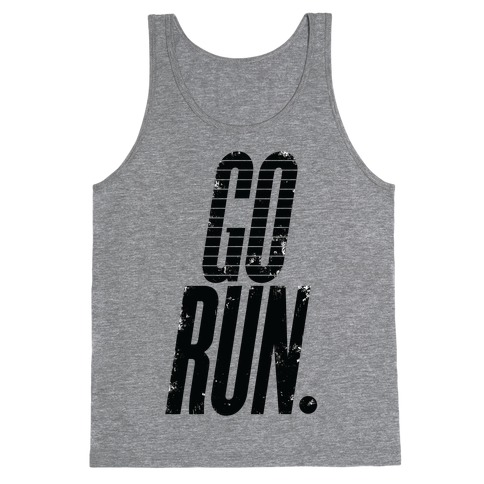 Go Run Tank Top