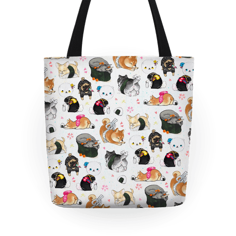 Japanese Dogs Tote