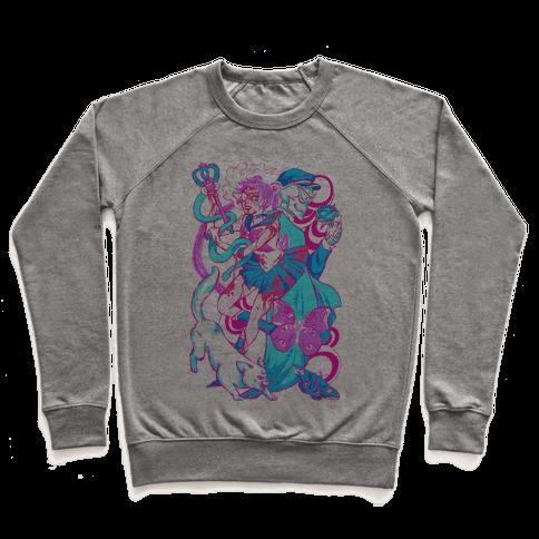 Rainbow Horror Senshi Parody Pullover