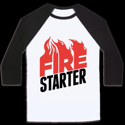 Fire Starter Baseball Tee