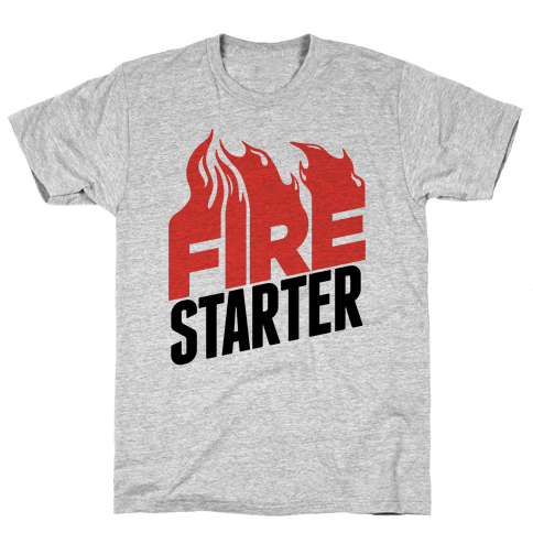 Fire Starter Mens T-Shirt