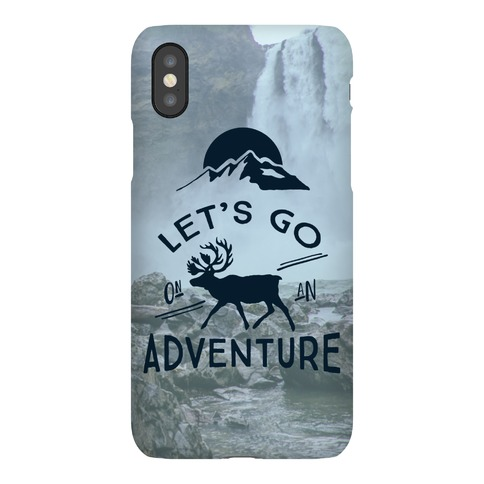 Let's Go On An Adventure Phone Case