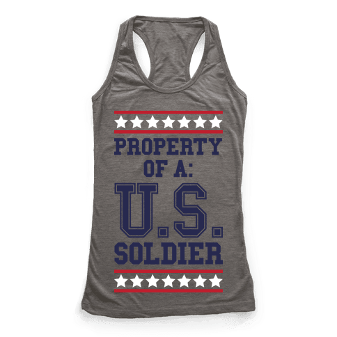 Property Of A U.S. Soldier