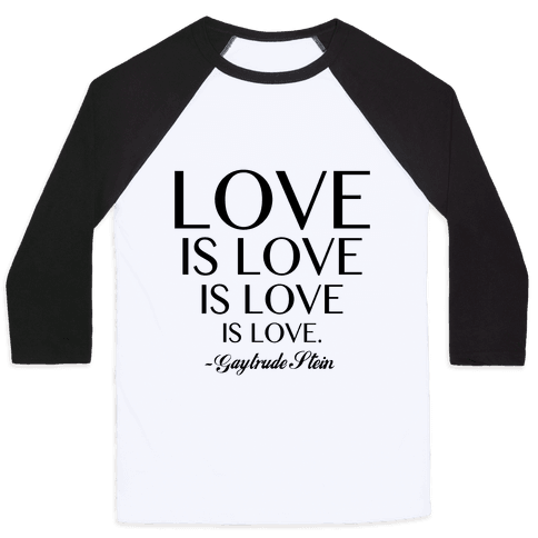 Love is Love Baseball Tee
