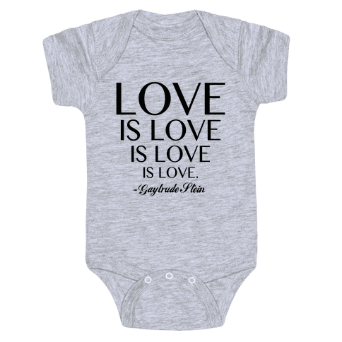 Love is Love Baby Onesy