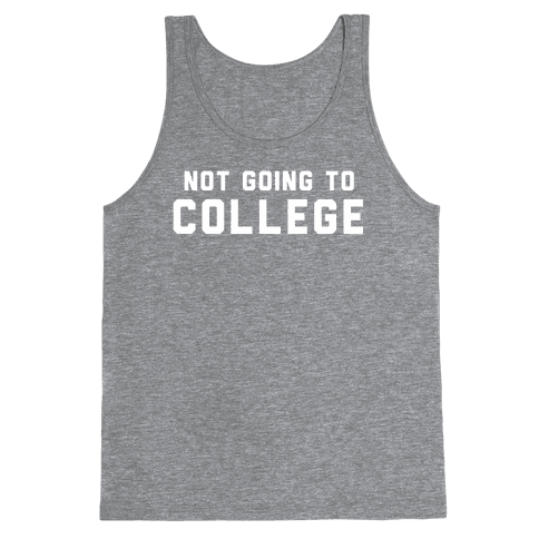 Anti-College (Vintage) Tank Top