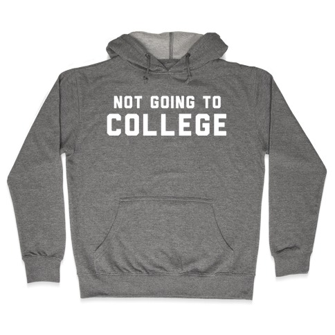 Anti-College (Vintage) Hooded Sweatshirt