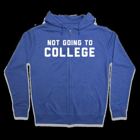 Anti-College (Vintage) Zip Hoodie