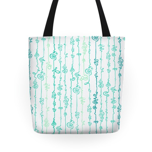 Scribble Doodle Pattern Tote