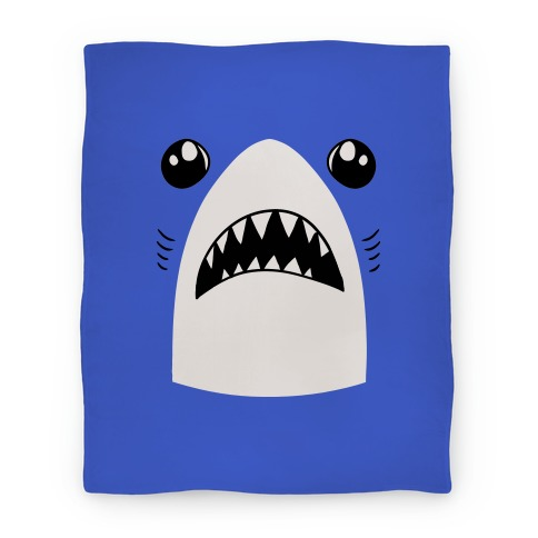 Left Shark Face Blanket