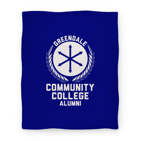Greendale Community College Alumni Blanket