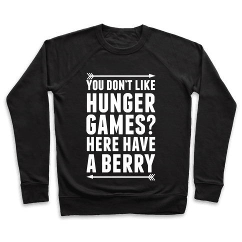 You Don't Like Hunger Games? Here Have A Berry Pullover