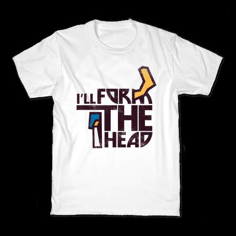 I'll Form the Head (vintage) Kids T-Shirt