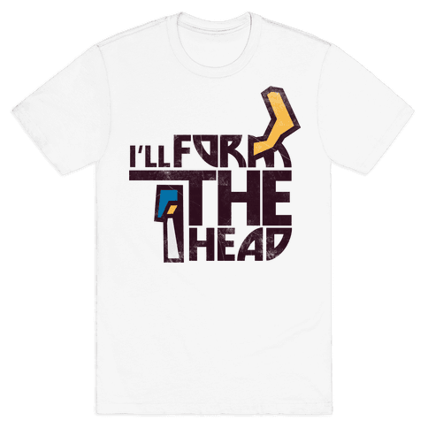 I'll Form the Head (vintage) Mens T-Shirt
